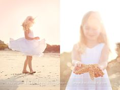 Beach Session with little girl.  From Heidi Hope.  Love her work!