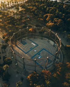 Milestones of College Basketball. Basketball is a favorite pastime of kids and adults alike. Basketball Park, Street Basketball, Love And Basketball, College Basketball, Landscape Architecture, Landscape Design, Sport Park, Basketball Photography, Aerial Photography