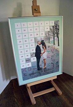 Alternative Wedding Guest Book Puzzle Guestbook by CForiginal