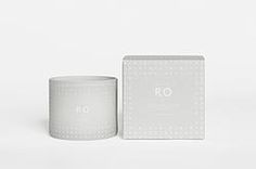 XL RO scented candle (TRANQUILITY)
