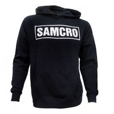 Sons of Anarchy SAMCRO Hoodie--This is one I've wanted for quite a while now...!