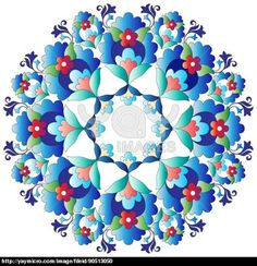 YAY Images - Ottoman motifs design series with fourteen version by antsvgdal Turkish Design, Turkish Art, Glue Art, Motif Design, Abstract Flowers, Free Illustrations, Islamic Art, Pattern Art, Stickers