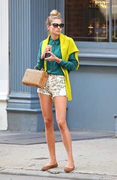 edie new york thinks this is perfect for ahot summer day in the city! street style