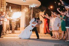 Sparkler wedding exit, romantic wedding photography ideas
