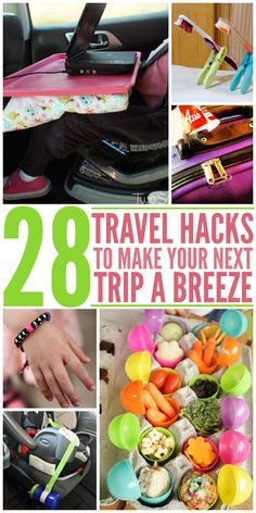 Definitely Want to Try All These Car and Travel Hacks On My next Road Trip or Vacation.