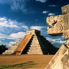 Chichen Itza in Mexico.