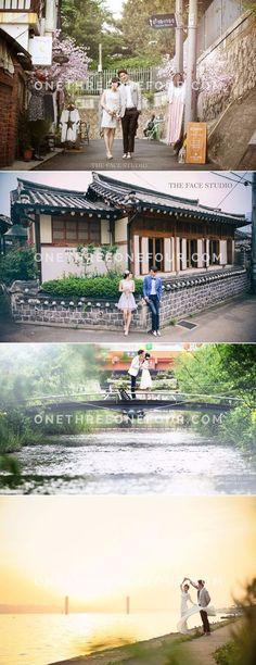Korean Pre-Wedding Photography: The Face Studio - Han River, Insadong, Bukchon Hanok Village, Outdoor, Casual