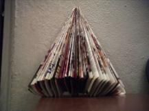 Make a Christmas Tree from Your Reader's Digest Magazine | Reader's Digest Australia