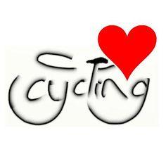Simply...I love cycling.