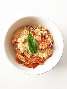Skinny Chicken Parmesan Casserole (Sponsored) — The Skinny Fork