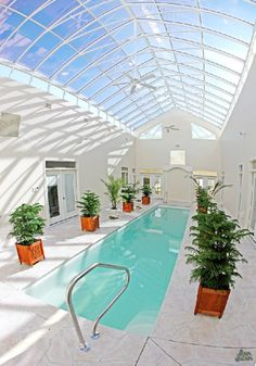 the perfect indoor pool for me in the Midwest winters.