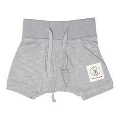 Gro Knit Baby Shorts grey - Gro Company