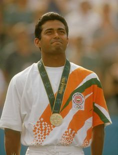 Happy Birthday Leander Paes!    As a 23-year-old, Leander Paes shocked the tennis world by winning a bronze medal for India in the 1996 Atlanta Olympic Games.     And after 17 years the Indian tennis legend, on the occasion of his 40th birthday, summarised his career as one full of ups and downs and also expressed his eagerness towards playing the Wimbledon. Watch the interview here.