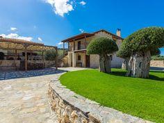 Rethymno villa rental - BBQ facilities in the garden! Swimming Pools, Bbq, Villa, Mansions, House Styles, Beach, Garden, Swiming Pool, Barbecue