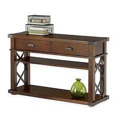 Landmark Console Table in Vintage Ash