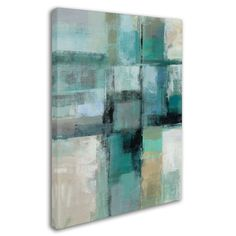 Trademark Fine Art 'Island Hues Crop I' by Silvia Vassileva Painting Print on Wrapped Canvas