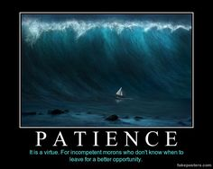 Patience Funny Cartoons, Funny Jokes, Hilarious Stuff, Funny Cute, The Funny, Very Demotivational, History Memes, Keep It Real, E Cards