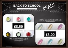 Hurry, offer is on till 7th September! Selected colours ONLY!  www.susansnailstore.co.uk