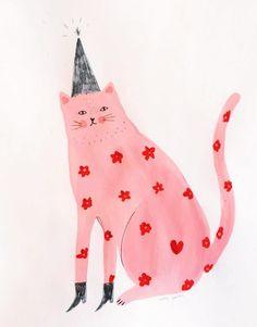 Art And Illustration, Arte Alien, Guache, Poster S, Aesthetic Drawing, Oeuvre D'art, Wall Collage, Cat Art, Art Inspo