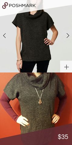 Selling this BNWT Knit Cowlneck Top on Poshmark! My username is: stephy_fergie. #shopmycloset #poshmark #fashion #shopping #style #forsale #LOFT #Tops