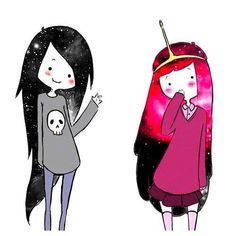 Marceline and PB