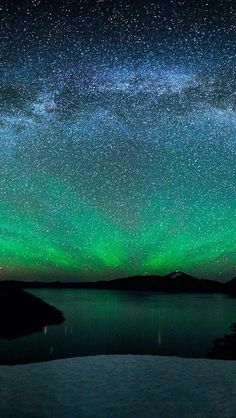 Northern Light Magic. Magical azul! I love to be there!