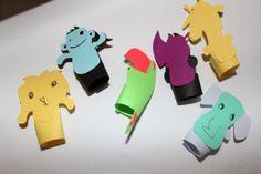 Kid DIY finger puppet kit by ReyesBoutique on Etsy, $5.00