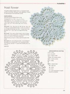 frost flower motif