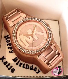 Michael kors watch cake More