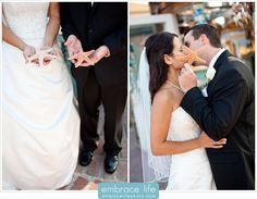 Adorable Bride and Groom Beach Portrait - Laguna Village Wedding Photographer, Wedding Photo Ideas, Bridal Portrait Ideas