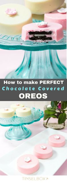 You will obsess over these chocolate covered oreos, I promise you! They have the right amount of crunch inside with silky REAL chocolate outside. Easy and delicious oreo cookies. Chocolate Coating, Chocolate Covered Oreos, White Chocolate Chips, Blue Chocolate, Chocolate Tarts, Chocolate Strawberries, Chocolate Cupcakes, Fun Cookies, Oreo Cookies