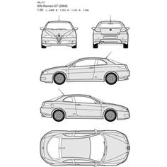 vector art illustration alfa romeo car all side blueprint All Free Vector, Vector Free Download, Free Pictures, Free Photos, Free Website Templates, Alfa Romeo Cars, All Icon, Photoshop Brushes, Vector Art