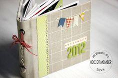 "Charte Hobby - Mini album: ""Septembre 2012"" par Silva = encore une autre idée de mini : http://hobby-di-carta.blogspot.com.es/2012/11/mini-album-settembre-2012-by-silva.html"