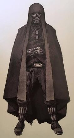 Concept Art of the Knights of Ren, from the Star Wars VII Art Book.