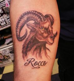 Aries Tattoos - Tattoos.net