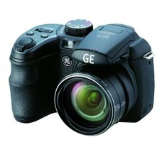 GE Power Pro X500-BK 16 MP with 15 x Optical Zoom Digital Camera, Black from GE $109.00