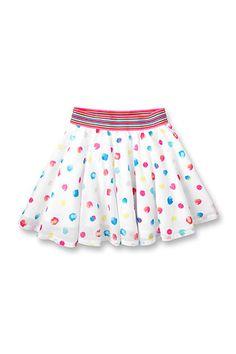 Esprit - katoenen rok met stippen kopen in de online shop