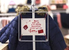 Fun sign holder for a children's store | Zippy store by Dalziel and Pow, Porto – Portugal ‎ » Retail Design Blog