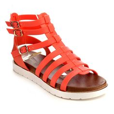 Beston EB29 Women's Jelly Gladiator Sandals | Overstock.com Shopping - The Best Deals on Sandals