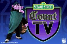 Sesame Street's Count TV app