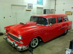 Wicked wagon 55 Chevy