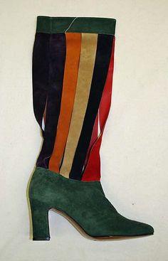 1aca7334dda4 1970 Culture  American Medium  leather Dimensions  Heel to Toe  9 in. cm)  Credit Line  Gift of Beth and Herbert Levine