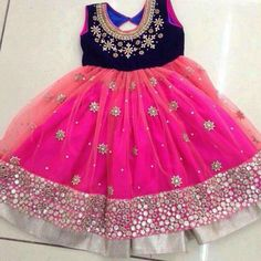 Items similar to Indian Ethnic Dress on Etsy Kids Party Wear Dresses, Kids Dress Wear, Kids Gown, Dresses Kids Girl, Kids Outfits, Kids Wear, Kids Indian Wear, Kids Ethnic Wear, Baby Dress Design