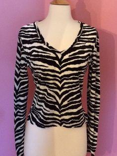 Zebra long sleeved shirt by SplashOfSassBoutique on Etsy