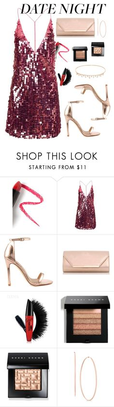 """#summerdatenight"" by elenh-tata ❤ liked on Polyvore featuring Lapcos, Motel, Liliana, Dorothy Perkins, Bobbi Brown Cosmetics, Yeprem, Summer, rosegold, polyvorecommunity and polyvorefashion"