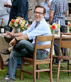 Throw an outdoor dinner party with these tips and #recipes from Chopped host, Ted Allen.
