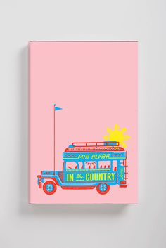 oliver munday book cover design ----- I like the colors, as well as ow they incorporated the text onto the bus in a almost realistic way Diary Cover Design, Notebook Cover Design, Back Cover Design, Design Poster, Book Design Layout, Print Design, Design Design, Book Cover Art, Book Art