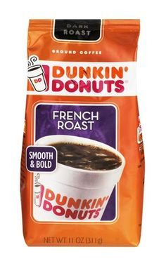 One of my current favorite coffee blends is Dunkin' Donuts's French roast.