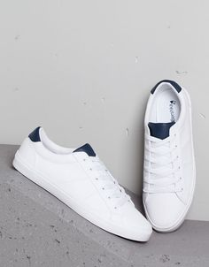 finest selection f7f5f 7d8c0 MAN - NEW COLLECTION - Shoes - Bershka United Kingdom Mens White Sneakers, Shoes  Sneakers