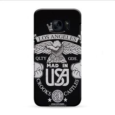 Los Angeles Crooks And Castles Samsung Galaxy S7 Edge 3D Case